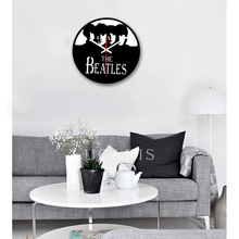 Nostalgic Retro Wall Clock Creative Acrylic Carving Clock Round Mute Wall Clock Modern Design Home Decoration Accessories(China)