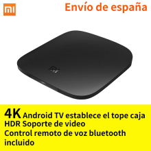 Xiaomi mi box Android TV 6.0 Smart 4K HD TV Box Quad Core Set-top Box WiFi Bluetooth Youtube Kodi DTS Dolby IPTV Media Player