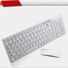 MAORONG TRADING keyboard and mouse Slim multimedia wireless keyboard and mouse set For imac  for lenovo for asus for dell laptop