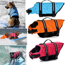 Pet Dog Save Life Jacket Safety Clothes Life Vest Outward Saver Pet Dog Swimming Preserver Large Dog Clothes Summer Swimwear(China)