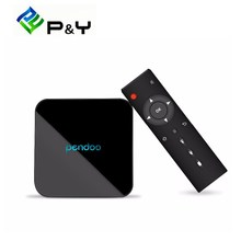 Android TV Box Pendoo X10 Amlogic S905W Quad Core 2G DDR3 16G Bluetooth Android 6.0 Smart Tv Box Kodi OS 4K Set Top Box(China)