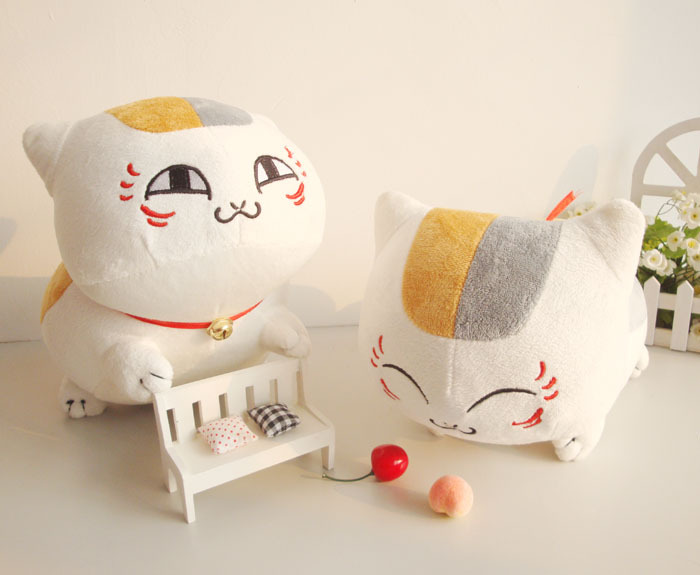 stuffed animal plush 75cm natsume yuujinchou cat plush toy soft doll w962<br><br>Aliexpress