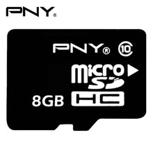 PNY Memory Card Micro Sd Card 8GB 16GB 32GB Class 10 SDHC Memory Card Flash Memory Microsd for Smartphone Official Verification