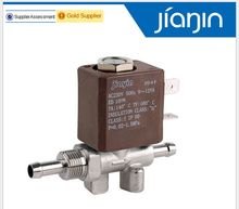 JYZ-3W Normally Closed 2mm N/C 2/2 Way AC 230V G1/8'  Brass Steam Generator Water 2 Position 2 Way Solenoid Valve Coffee Makers
