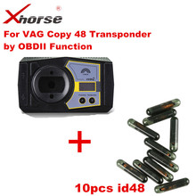 VVDI2 For VAG Copy 48 Transponder by OBDII Function Authorization Service With 10pcs ID48 chip(China)