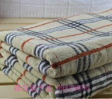 Pure cotton double towelling coverlet cotton increased thickening blanket towel blanket air conditioning 180*210cm