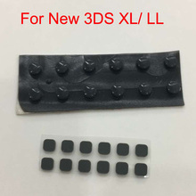 10 Sets for NEW 3DS XL 3DS LL Screw Rubber pads Screw Feet Cover Set Replacement Parts