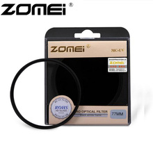 Zomei 40.5/49/52/55/58/62/67/72/77/82mm MCUV Filter Multi-Coated AGC Optical Glass Ultra Violet MC-UV Lens Filter ForCanon Nikon(China)