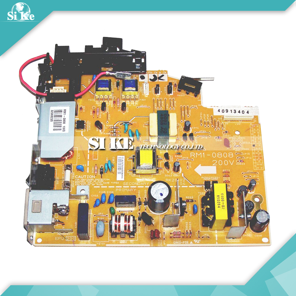 LaserJet Printer Engine Control Power Board For HP 1010 1012 1015 RM1-0808 RM1-0807 HP1010 HP1012 Voltage Power Supply Board<br>
