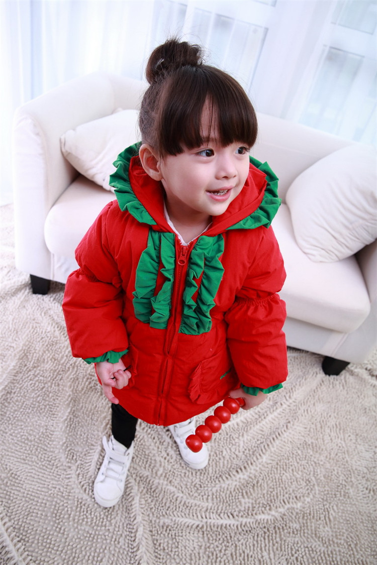 TC-3, christmas , Children girls coats, long sleeve hooded solid coats, children outwearОдежда и ак�е��уары<br><br><br>Aliexpress