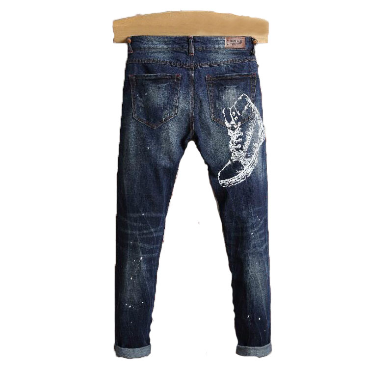 Msaiss The New Spring Of 2017 Cotton Men Jeans High Quality Printing Mens Brand Of Jeans Stick Men JeansОдежда и ак�е��уары<br><br><br>Aliexpress
