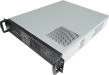 2U550mm Computer server case 19 Inch Rack Industrial Chassis Support ATX Motherboard power supply