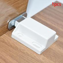Cabinet Catches Invisibility Push To Open Magnetic Door Drawer Cabinet Catch Touch Latch Cupboard Door Accessory(China)
