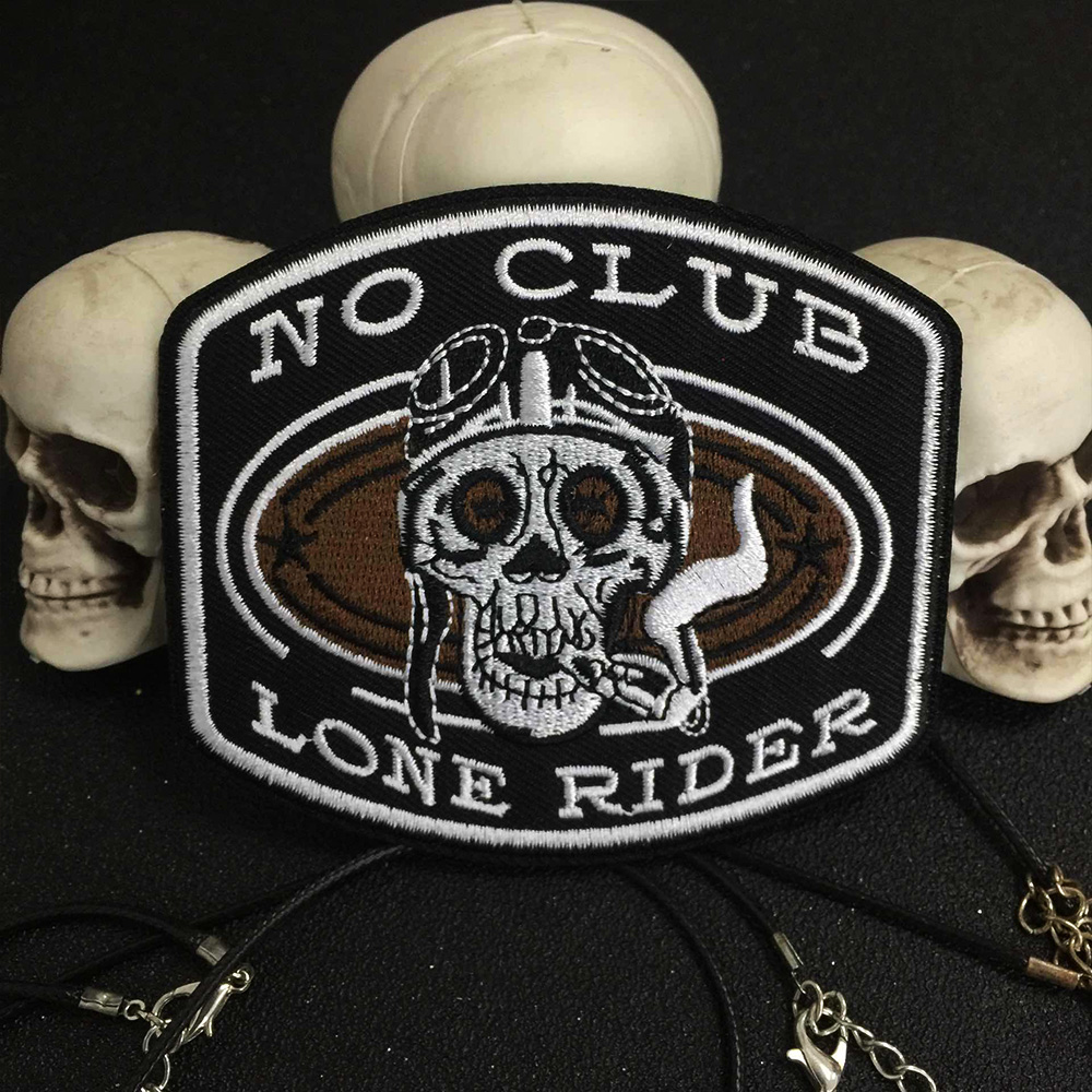 Skeleton Rider Live Free Ride Free motor cycles biker patch