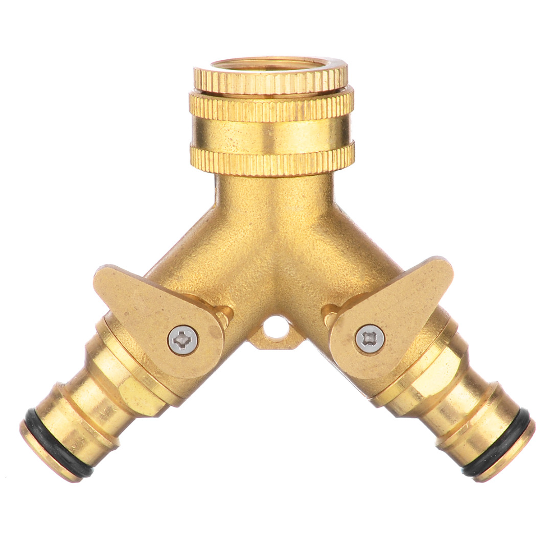 "10 Type 3/4"" Threaded Connectors Garden Hose Tap Connector Garden Water Pipe Adapter for Garden Watering Irrigation System"