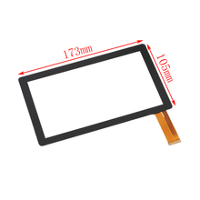 Original 7'' Allwinner A10,A13,Q8,Witcool X5 LCD touch screen digitizer panel(China)