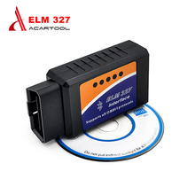 2017 ELM327 Bluetooth OBD2 Scanner V2.1 Interface Works On Android Torque Elm 327 OBDII Car Diagnostic Scanner free shipping
