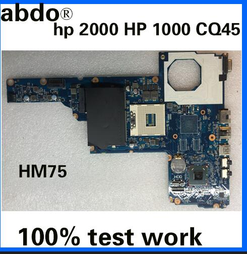 abdo 685107-501, 685107-001 motherboard for hp 2000 450 laptop motherboard 6050A2493101-MB-A02 all functions completely
