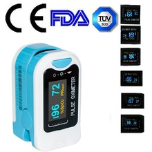 USA Shipping 2017 CE OLED Fingertip oxymeter spo2,PR monitor Blood Oxygen Pulse oximeter,CMS50N(China)