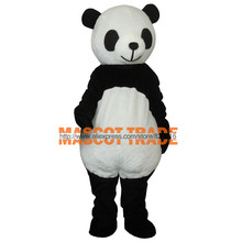 Cheap New wedding Panda Bear Mascot Costume Fancy Dress Adult Size(China)