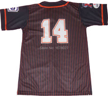 Custom Design over printing men baseball jerseys