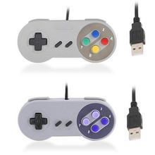 Factory direct Super NX USB gamepad SNES super computer handle PC game handle can be customized free shipping(China)