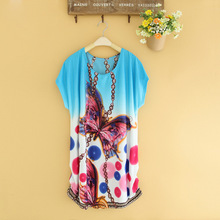 Summer New T-Shirts For Women Harajuku Flower Butterfly Rose Cat Mouse T Shirt Tops Female T-shirt