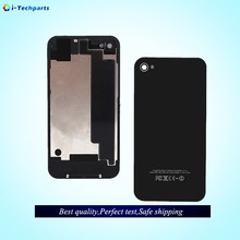 High Quality For iPhone 4S Batterys Cover Back Door Housing Case For iPhone 4 Chassi Rear Replacement,White Black