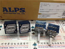 high quality Japan ALPS RK27 double volume potentiometer A50K A100K round handle new