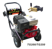 TG200 TG250 industrial high pressure 200bar 250bar all copper plunger pump gasoline engine washing machine