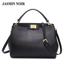2017 Fashion new Women PU Leather Handbags Litchi ladies messenger bag crossbody bag Brand designer tote bag bolsos mujer de(China)