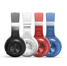 Original Bludio Bluedio HT Powerful Bass Stereo Bluetooth V4.1 Wireless Headphone Blue&Red color  Noise Isolating Headset