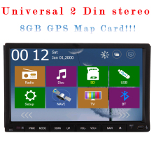 System RDS Touchscreen Autoradio GPS Car Stereo MP4 Auto Video Receiver 3D Map Music Audio DVD Player Radio Logo