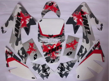 RACING MOTORCYCLE 3M sticker graphics kit decals for HONDA MOTO DIRT PIT BIKE PARTS XR CRF50 50 -CR005
