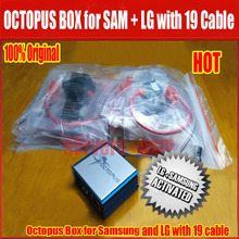Original Octopus box Full activated with optimus Cable for LG and for Samsung Unlock Flash & Repair update for S5( with 19 cable(China)