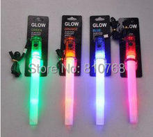 Free Shipping LED whistles outdoor camping props cheerleaders cheer at night Cheerleading#1816 B1(China)