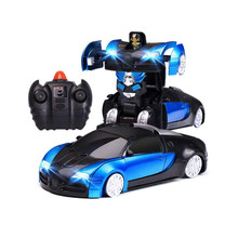 RC Floor Wall Climbing Climber Transformers Car Remote Control Racing Toy Car(China)