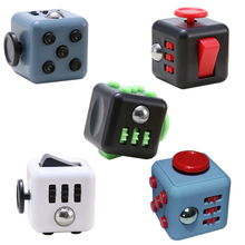Fidget Cube Toy Anti-stress Desk Squeeze Cube Toys Focus on Stress Relief Hand Magic Cube Finger Cubo Fidget Kubus Mini Cube