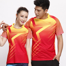 Manufacturers many multicolor badminton table tennis under coat lapels couples leisure jerseys