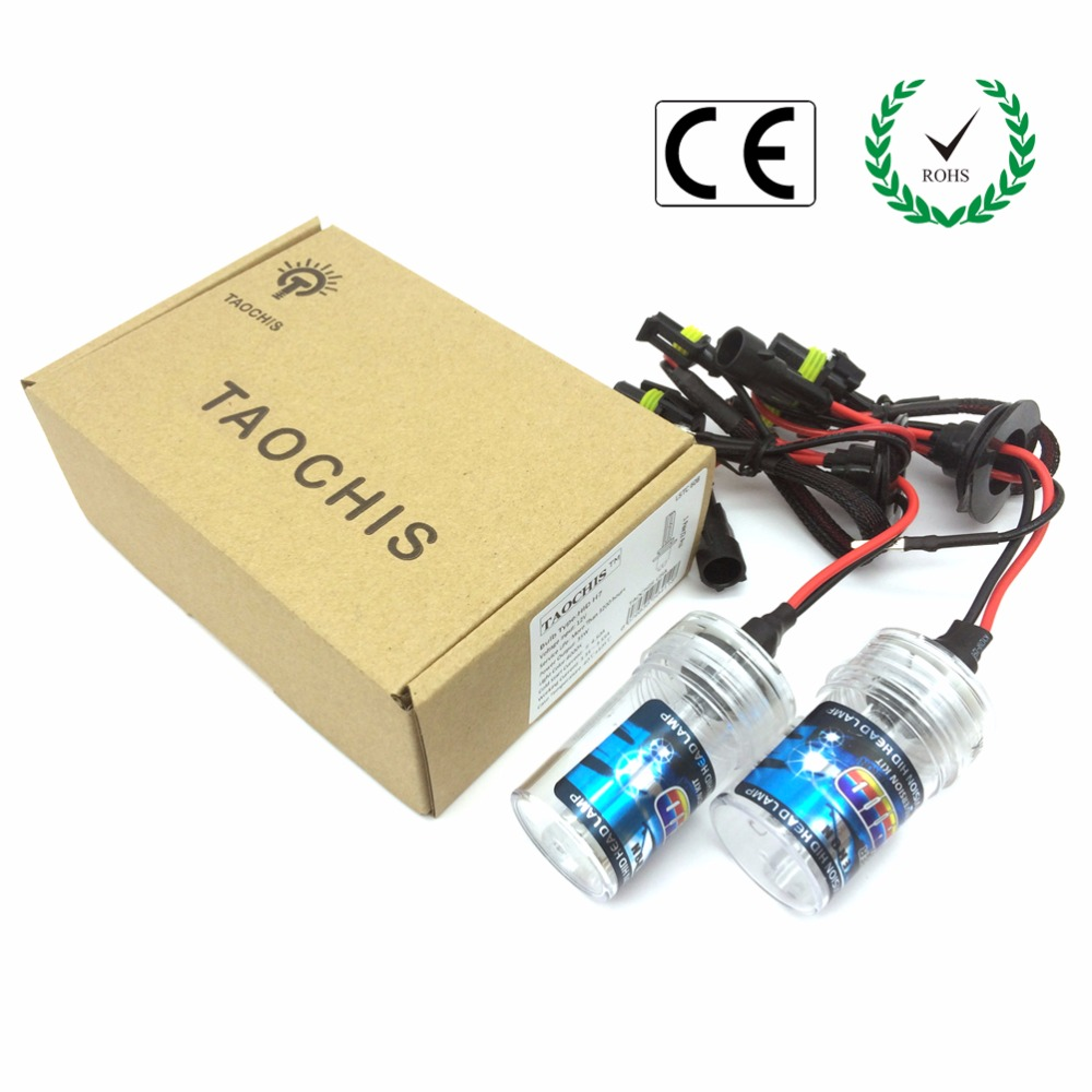 Taochis AC 12V 35W Car HID Xenon Bulbs H8 H9 H11 3000K 4300k 6000k 8000k Replacement Auto Headlight Car lights front light Lamps<br><br>Aliexpress