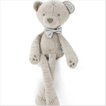 42cm Baby Plush Bear Sleeping Comfort Doll Plush Toys Smooth Obedient Bear Sleep Calm Doll CX881779