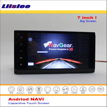 Liislee Car Android GP NAVI Navigation System For Toyota Ractis / Vitz 2010~2013 Radio Audio Video Multimedia ( No DVD Player )(China)
