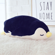 Penguin Soft Comfort Plush Cute Toy Animals Kawaii Pillow Dolls Puff Gigante Para Dormir Toys For Children Oyuncak Bebek 60G0255(China)