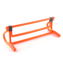 Soccer Training Hurdle Speed Barrier Frame Soccer Practice Adjustable Height Hurdles Shrink Fold Multifunction Equipment Tools