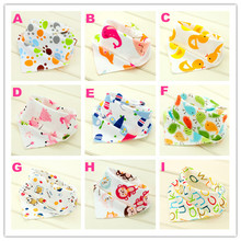 Waterproof Baby Boys Girls Bibs Kids Saliva Towel Lunch Baby Bibs Infants Cartoon Pattern Burp Cloths A-I Designs(China)