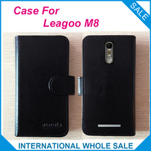 Hot! 2017 Leagoo M8 Case Phone,6 Colors High Quality Dedicated Leather Exclusive Case For Leagoo M8 Phone Bag Tracking