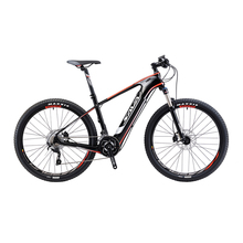 "SAVA Electric Bicycle Carbon Fiber e bike 27.5"" Mountain MTB Pedelec Bike w/Shimano M8000 XT 22S and SAMSUNG Li-ion Battery"