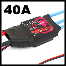 4PCS/Lot Mystery Fire Dragon 40A Brushless ESC RC Speed Controller for Trex Align 450 Helicopter(China)