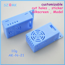 small electronics enclosures for pcb (50 pcs) 67*28*20mm plastic electrical box, wall mounting enclosure