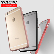 For iphone 6 case 6s 6 plus case 100% Original TCICPC brand silicone protective cover shell for Apple iphone 6 6s 6 plus(China)